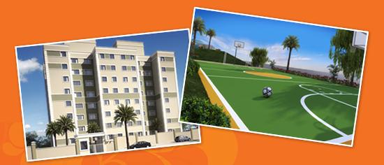 Apartamentos vão ter preço médio de R$94 mil; moradores podem financiar imóveis pela Caixa.