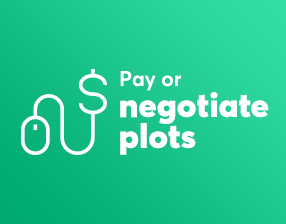 Pay or negociate plots